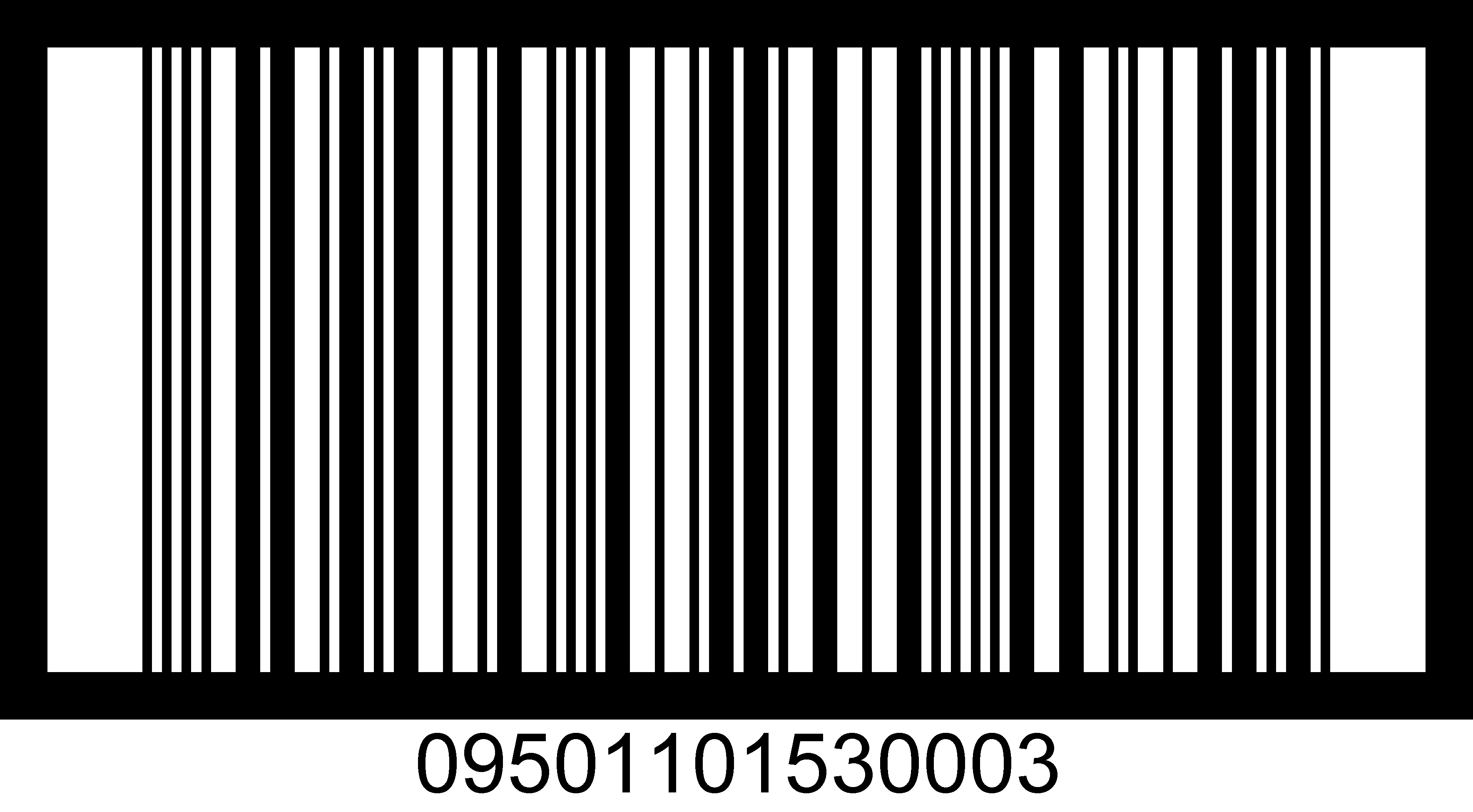 One Dimensional 1D Barcodes
