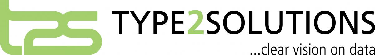 Type2Solutions Logo