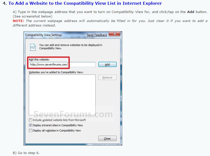 how to make website internet explorer compatible